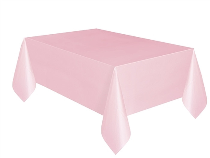 Tablecover Classic Pink Plastic