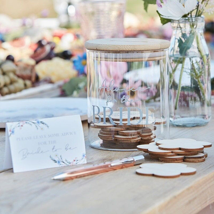 Advice Jar for the Bride - Boho Hen Party