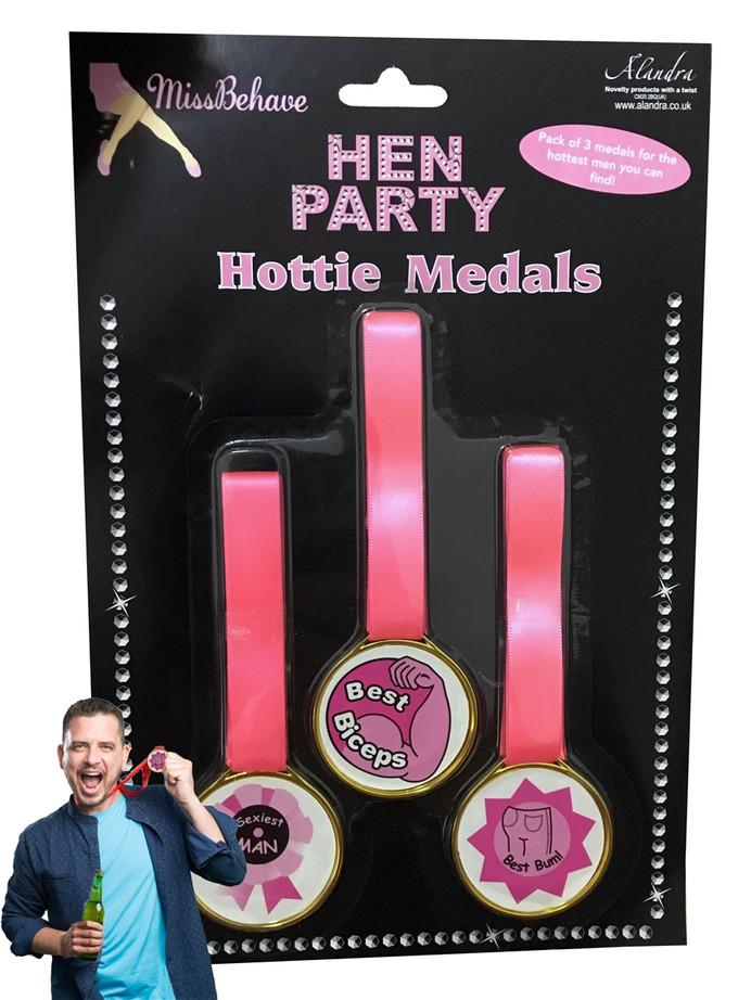 3 Hottie Hen Night Awards