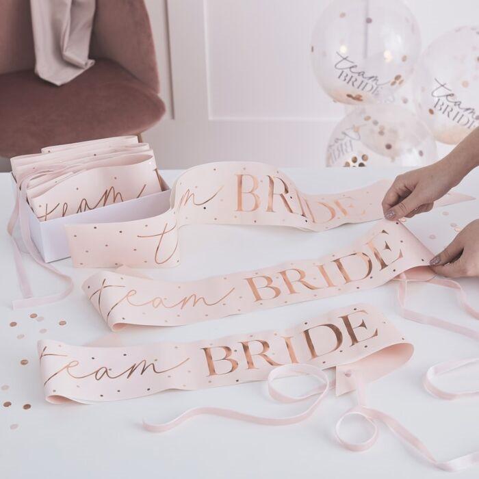Blush - Sash, Team Bride, Pink & Rose Gold (6)