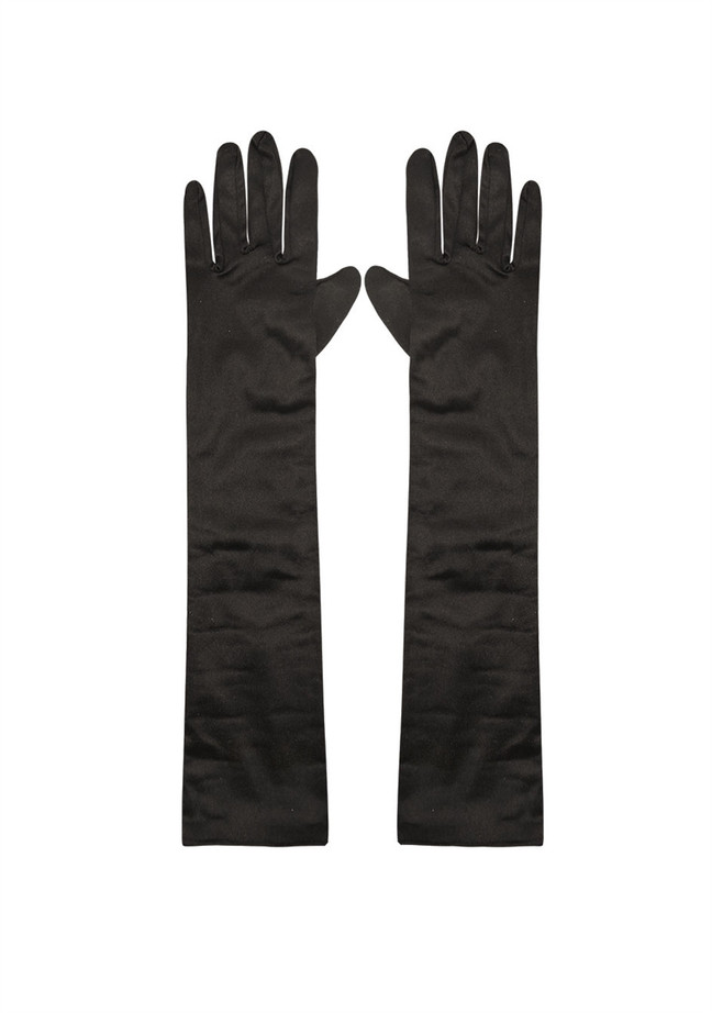 Gloves, Black, Long