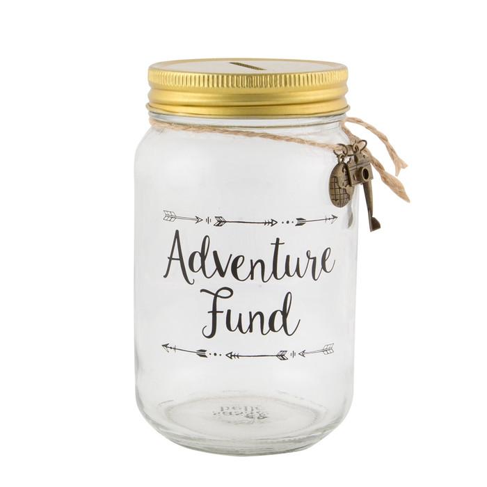 Adventure Fund Jar Money Box