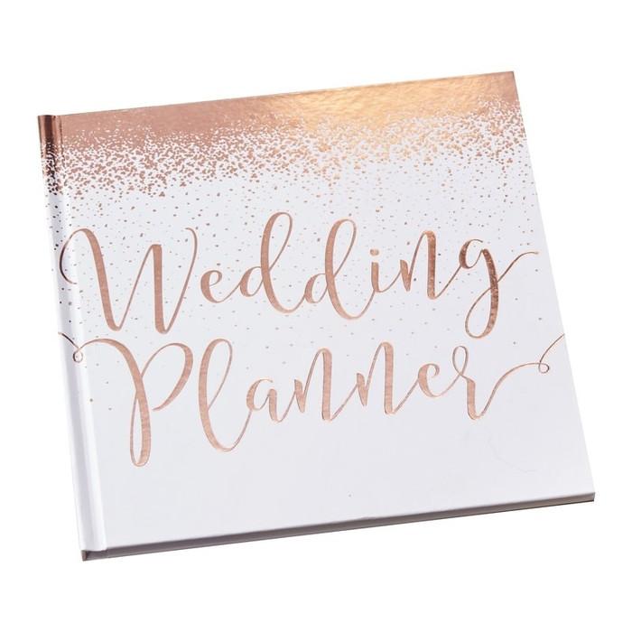 Rose Gold Foiled Wedding Planner