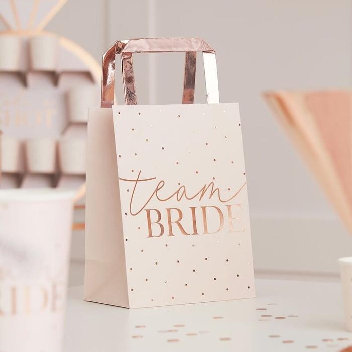 Blush - Team Bride Party Bags