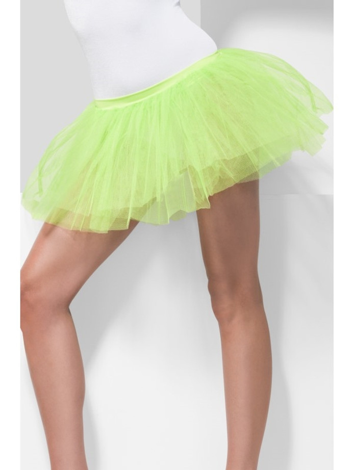 Tutu Underskirt, Neon Green, 4 Layers, 30cm Lon