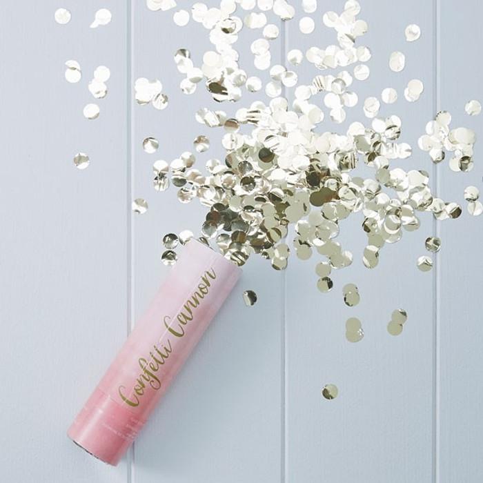 Confetti - Pink Ombre Compressed Air Confetti Cannon