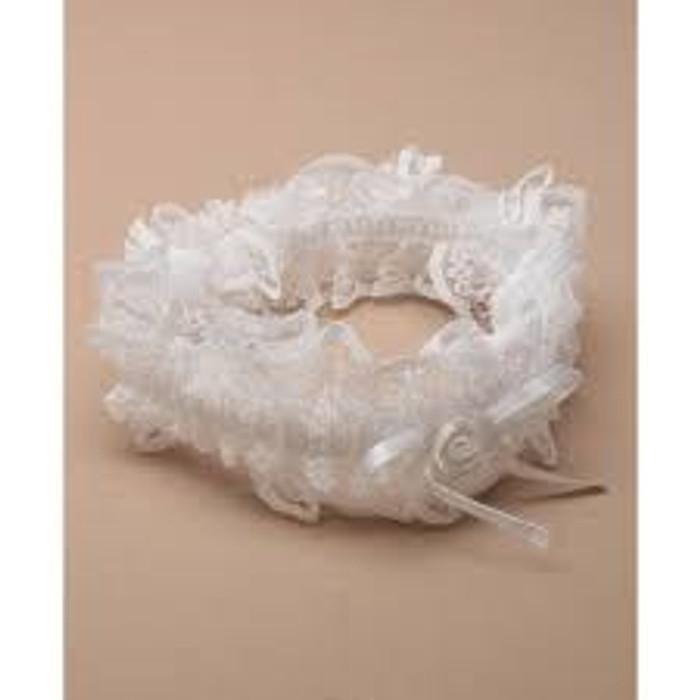 Brides Garter In Ivory