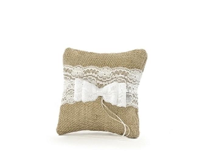 Ring Bearer Pillow, Brown