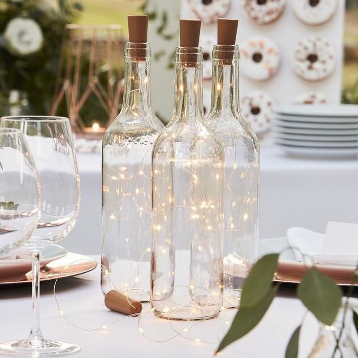 Glass Bottle Cork Led Lights
