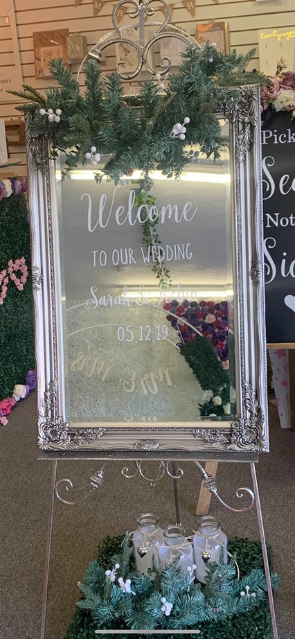 Welcome sign rental 5