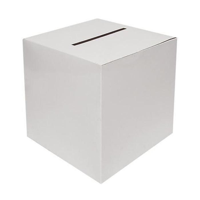 Wedding Card Box, White 30cm by 30cm