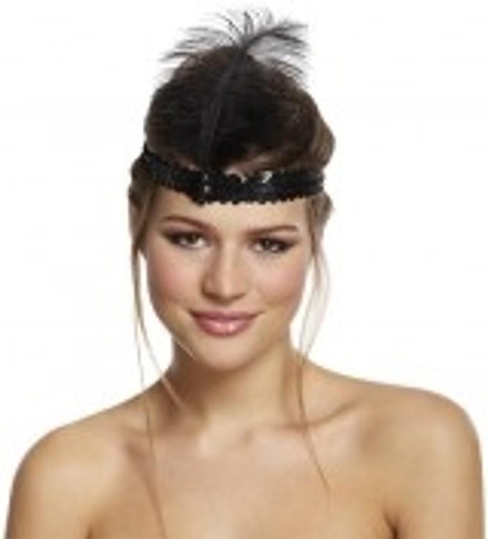 Black Charleston Headband