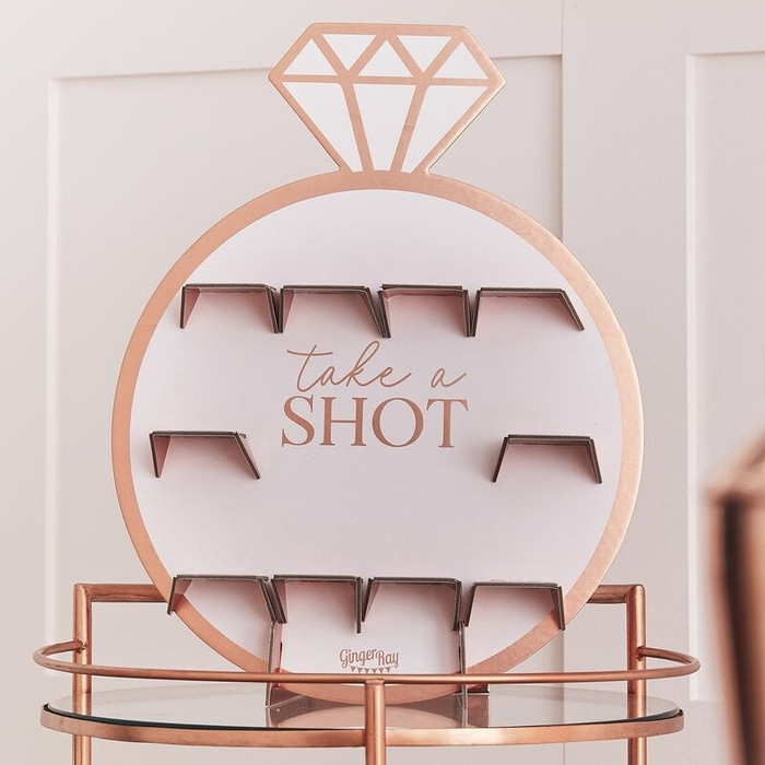 Blush - Hen Party Shot Holder