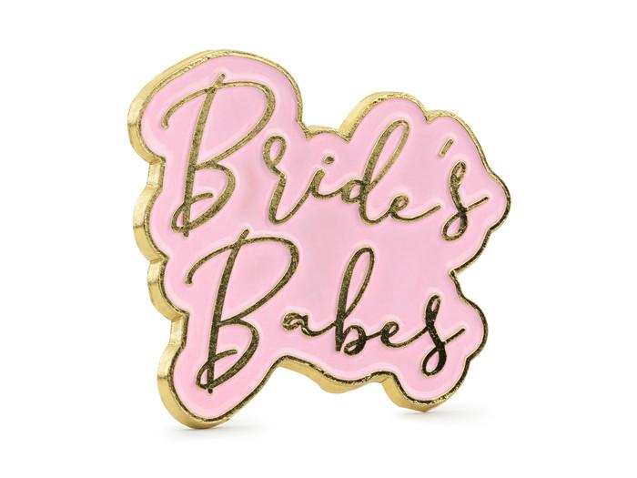 Enamel pin, Brides Babes