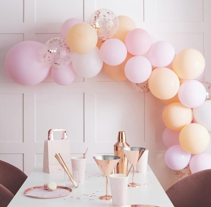 Matte Peach & Blush DIY Balloon Garland