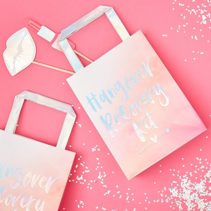Hen Party Hangover Recovery Party Bags - Bride Tribe (5)
