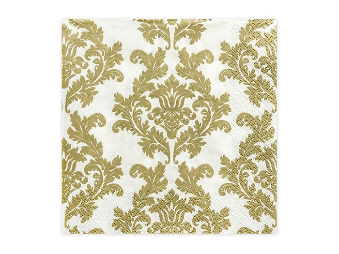 Gold Luncheon Napkins ( 20 per Pack)