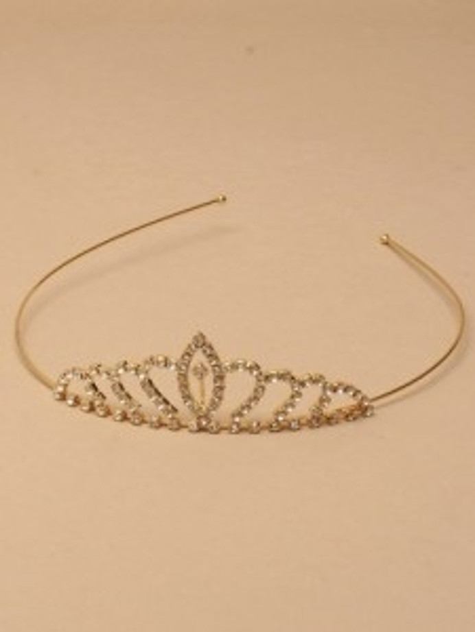 Gilt Tiara for the Bride to be