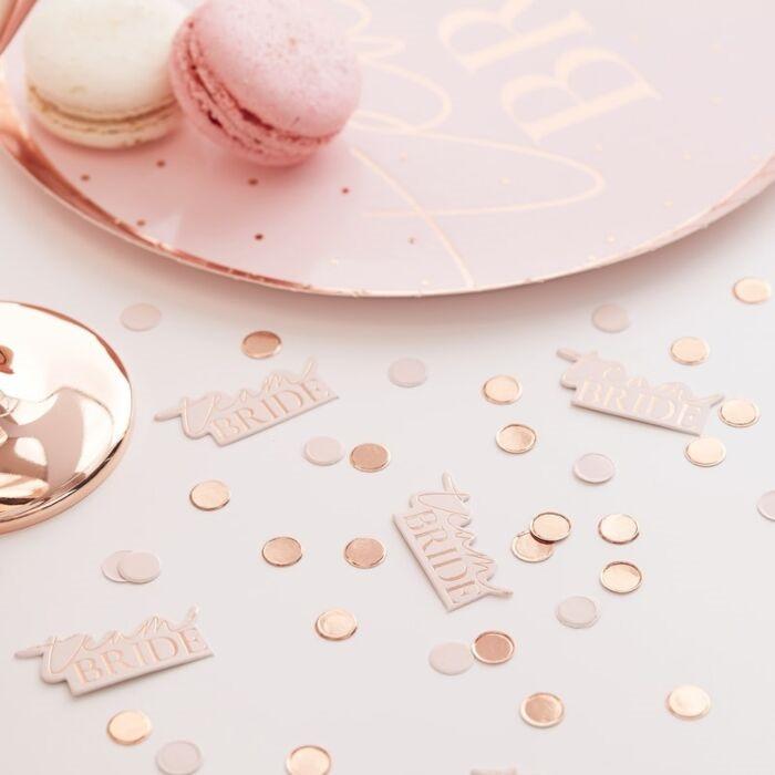Blush - Confetti, Team Bride