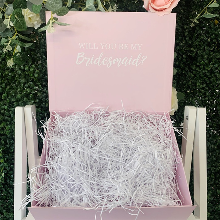 personalised pink box