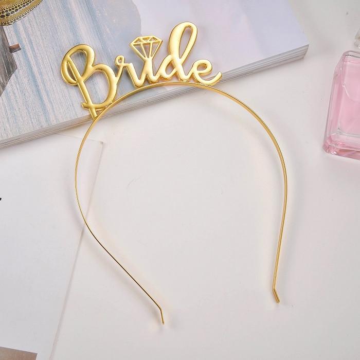 Bride Gold Headband