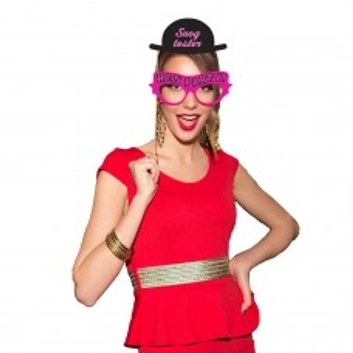 12 Photo Booth Props - Hen Party Fun