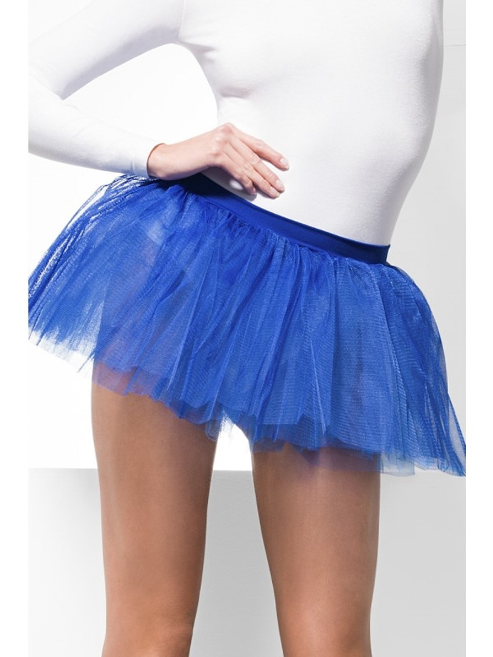 Tutu Underskirt, Blue, 4 Layers, 30cm Long