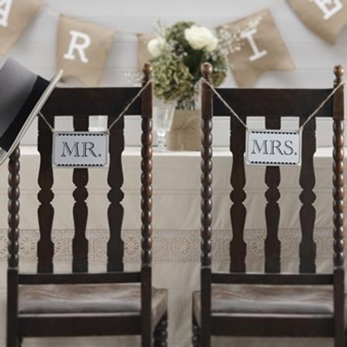 Mr & Mrs Signs - Vintage Affair