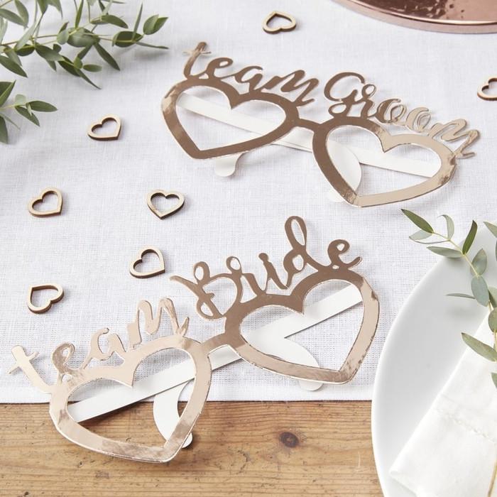 Glasses Team Bride/Groom - Beautiful Botanics