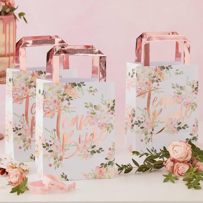 Floral Hen Party -Team Bride Party Bag