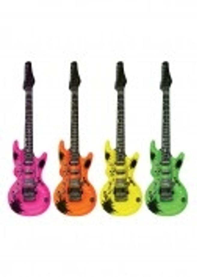 An Inflatable Guitar 106cm