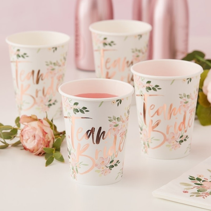 Floral Hen Party -Cup