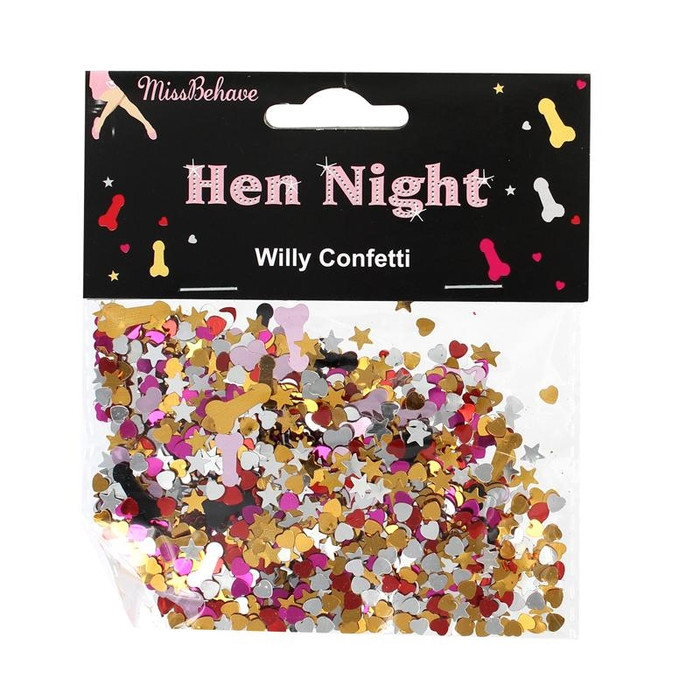 Confetti Willy, Hen Party
