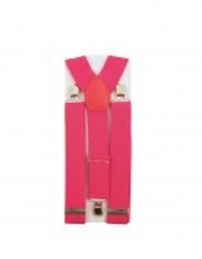 Braces Neon Pink
