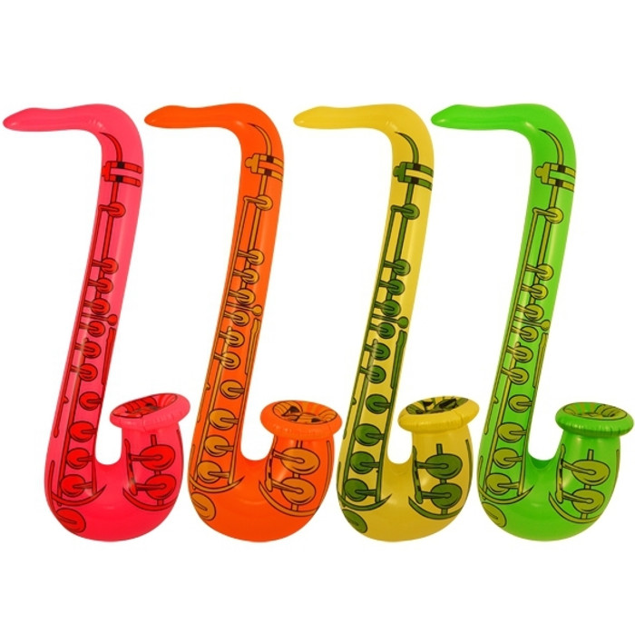 An Inflatable Saxophone 75cm