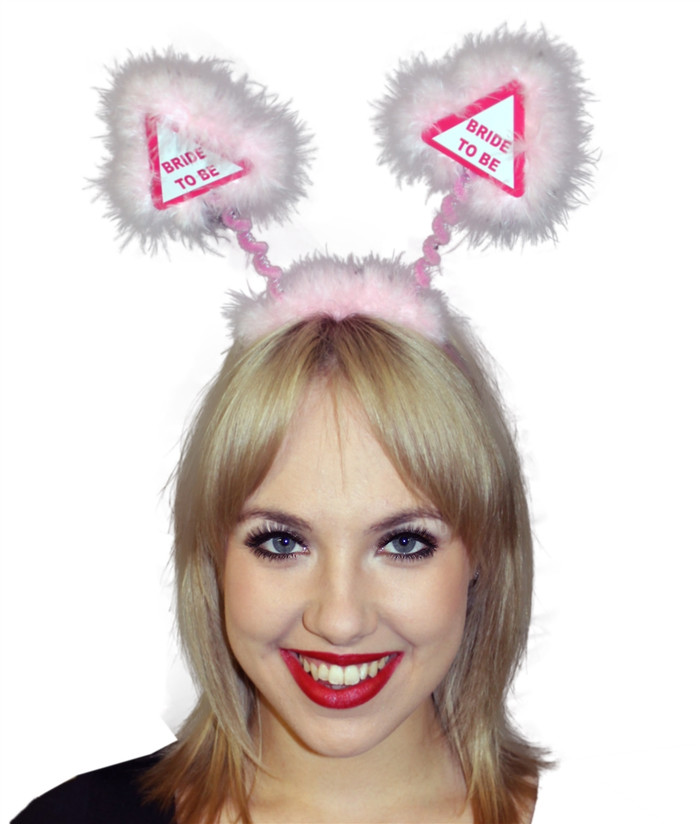 Pink Bride to be Head Boppers