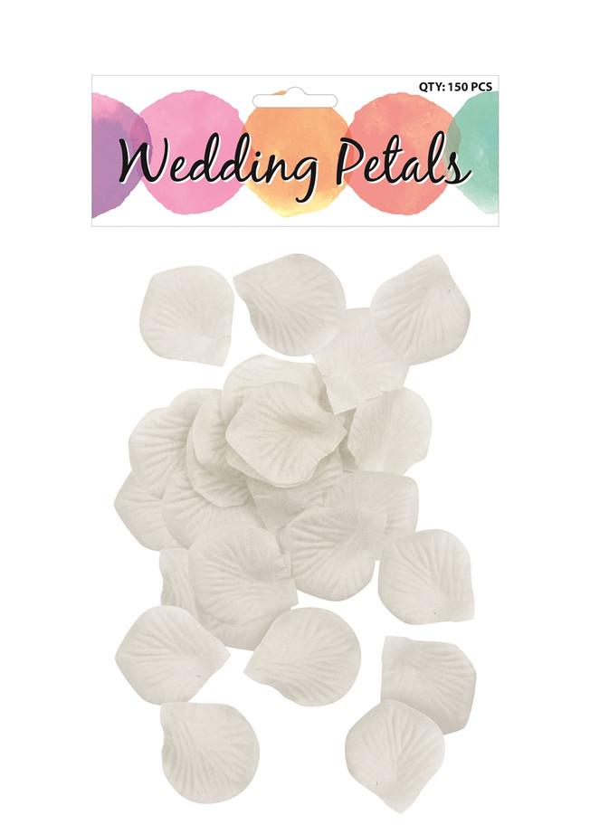 Petals, White Wedding 4.5 x 5cm