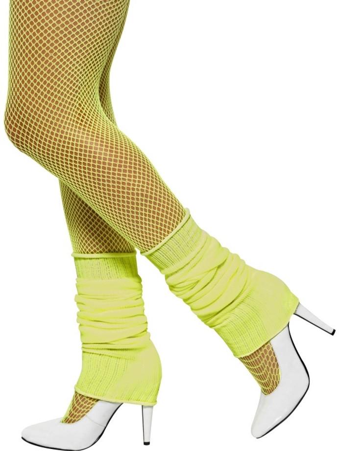Legwarmers, Yellow, Neon