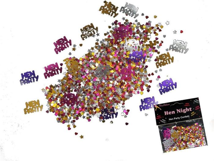 Confetti, Hen Party