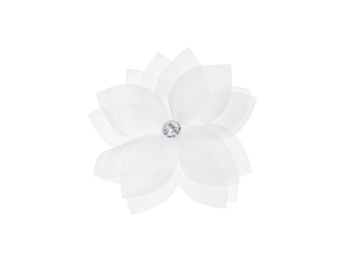 Flowers with a bead, Self Adhesive
