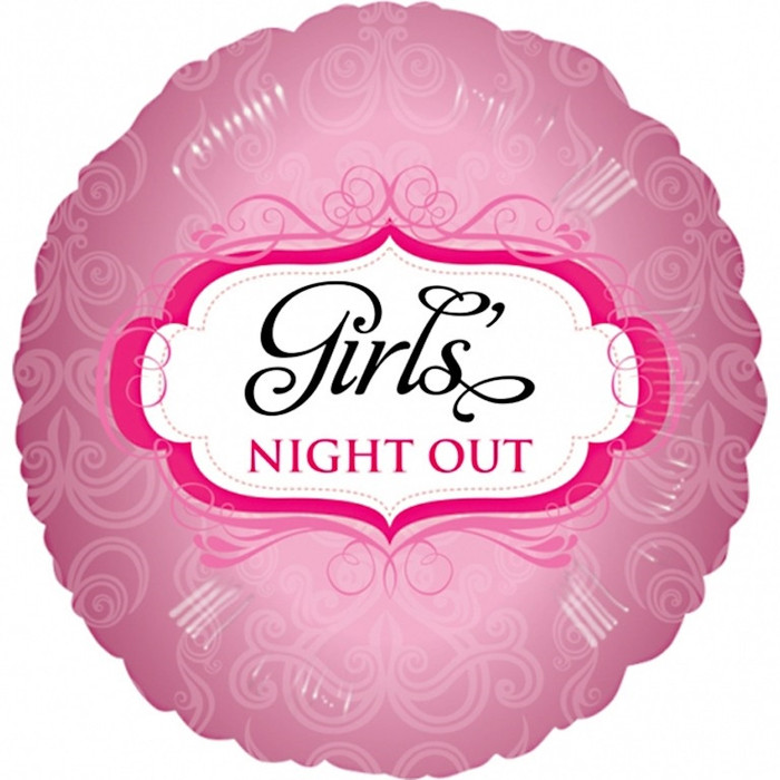 """18"""" Girls Night Out Foil Balloon"""