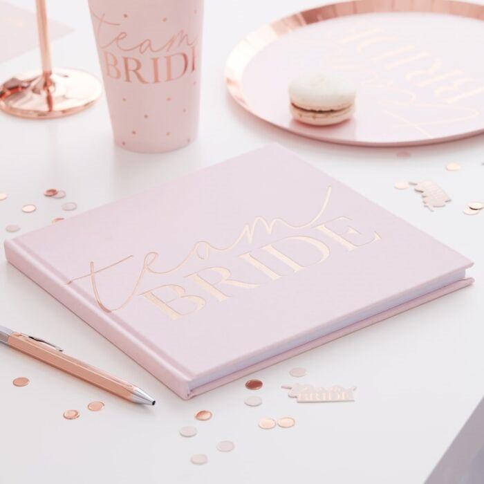 Blush - Hen Party Guest Book
