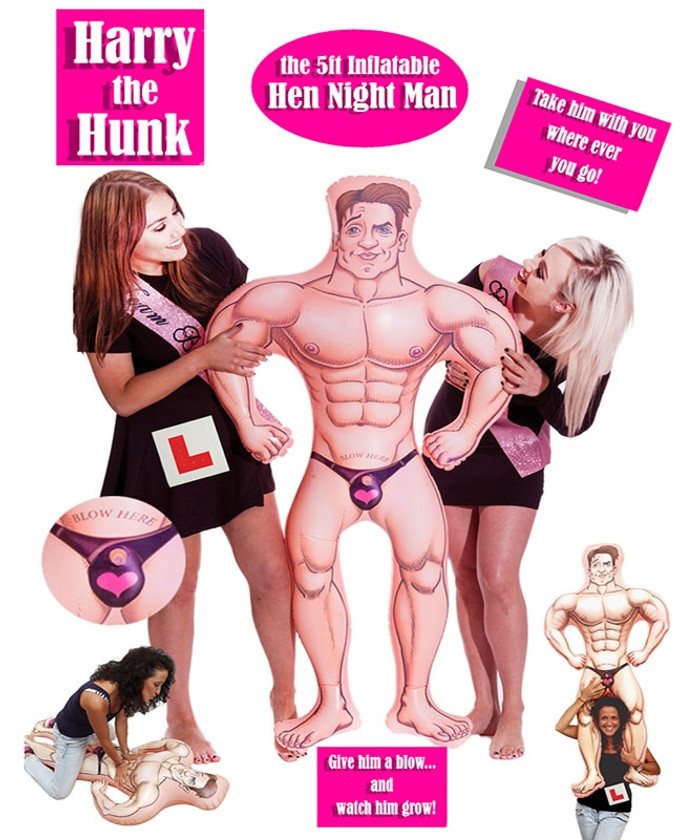 Harry The Hunk 5ft Inflatable Man