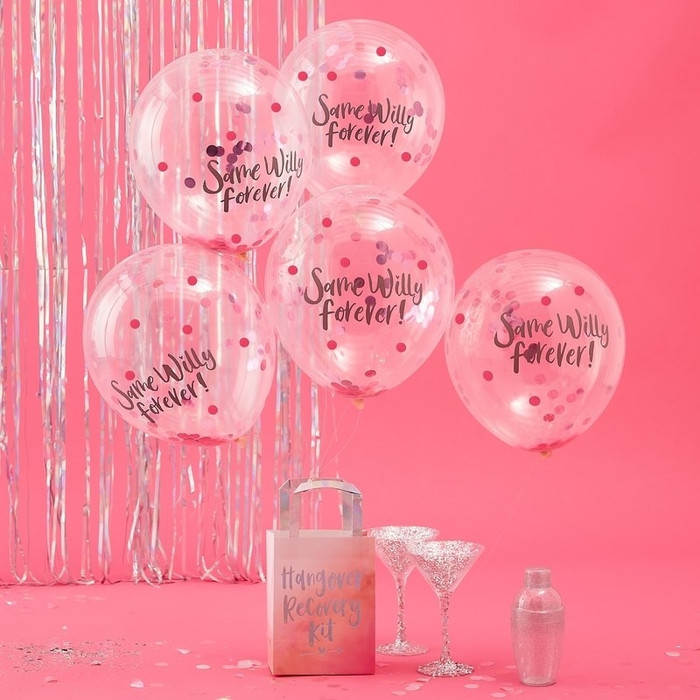 Same Willy Forever Confetti Balloons - Bride Tribe (5)