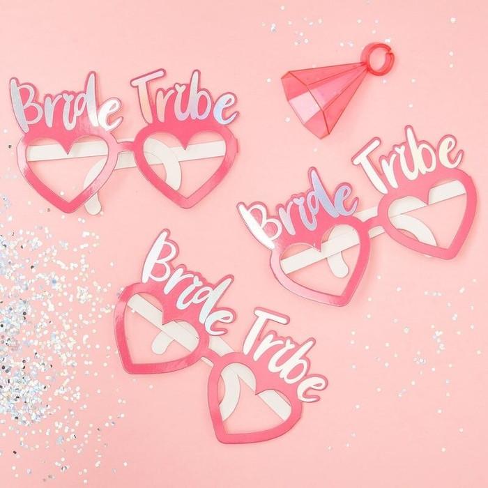 Bride Tribe Fun Glasses Hen Party Props Code: BT-329