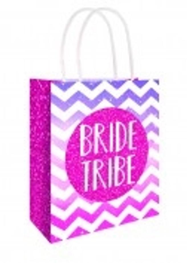 Bride Tribe Pink Bag 22 X 18 X 8cm