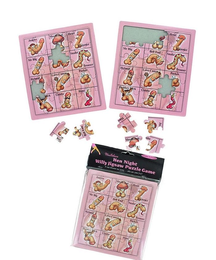 Hen Night Willy Jigsaw Game