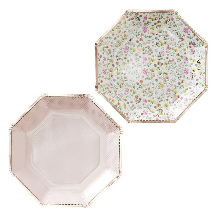 Ditsy Floral , Plates, Floral (8)