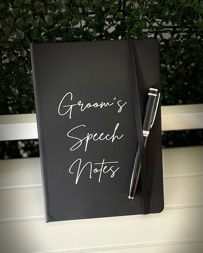 Personalised Speech Notes Book