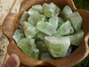 Green Calcite Chunk